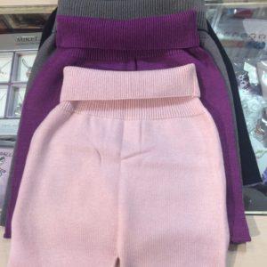 Pantalón corto lana
