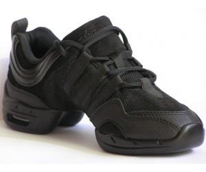 Sneaker Piel y Tela
